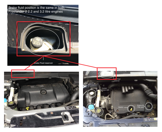 How To Check Your Freelander Fluids FreelanderSpecialist com: freelander td4 engine bay diagram at sanghur.org