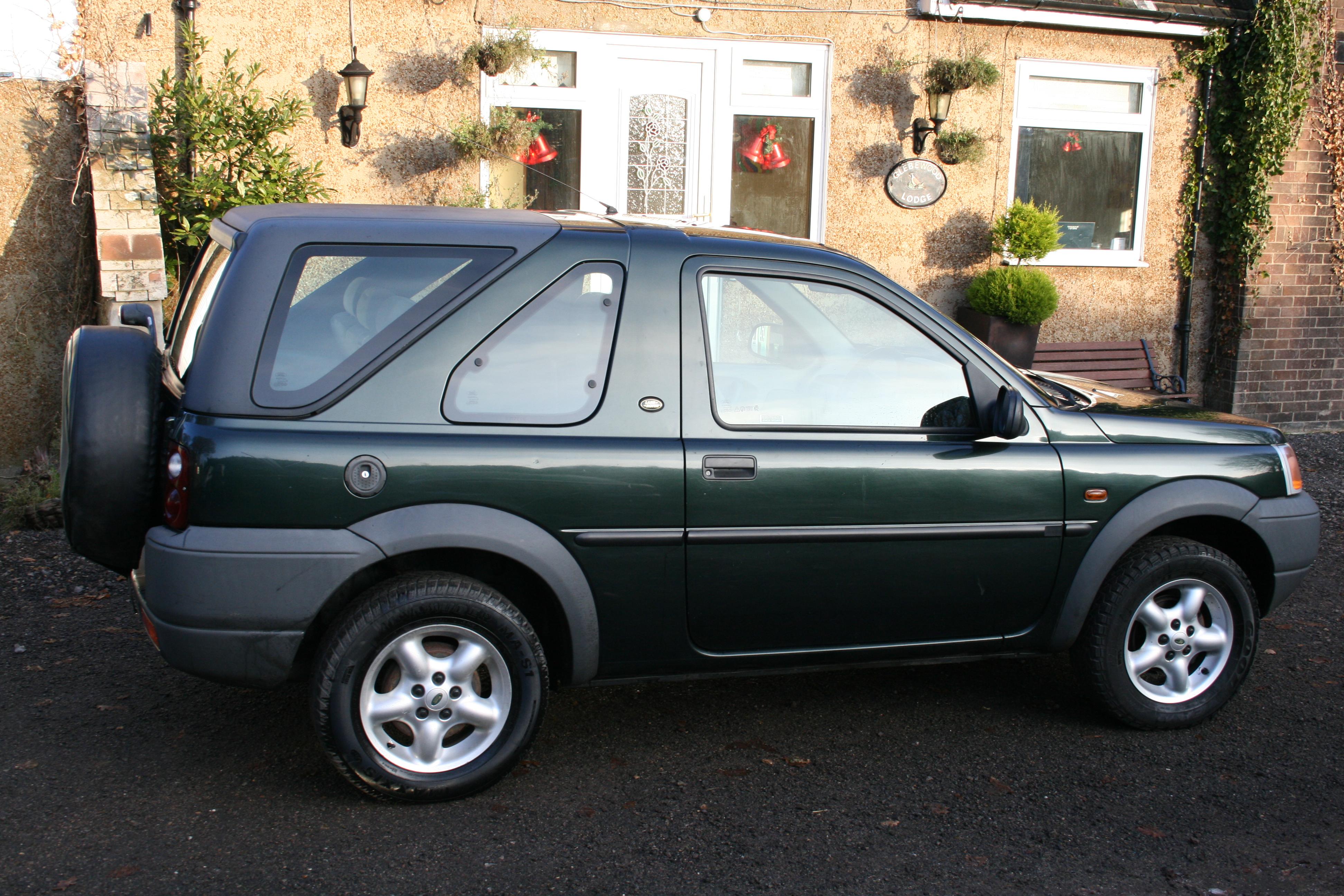 1999 freelander 3 door convertible for sale – 12 months mot